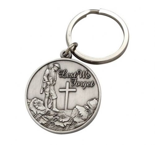 Lest We Forget Keyring